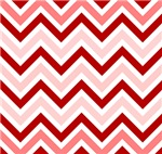 Variations Of Red Chevron
