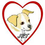 Cartoon JRT Inside a Red Heart
