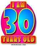 16th 18th 20th 21st 30th 40th 50th 60th & 70th