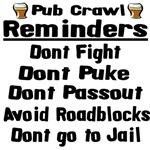 Pub Crawl Reminders