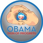 Obama Sign of Progress 
