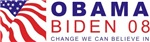 Obama-Biden - Change we can believe in 