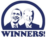 Winners! Obama and Biden 