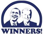 Winners! Obama and Biden