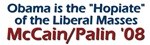 Obama: Hopiate of Liberal Masses