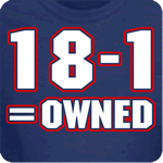 18-1 = Owned T-Shirt