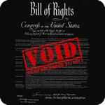 Bill of Rights Void NDAA T-Shirt