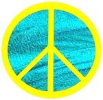 Peace Yellow Peace Symbol