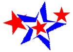 PATRIOT STARS III RED WHITE & BLUE™