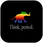 Think, period.