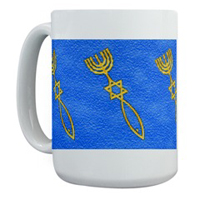 Messianic Cups, Mugs, Steins, & Tile Coasters