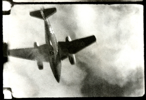 German ME-262 shot down over Germany
