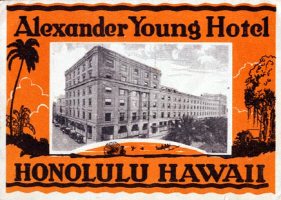 Alexander Young Hotel Hawaii