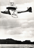 1935 Seaplane in Flight