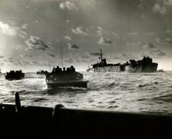 WWII US Marines assault Iwo Jima