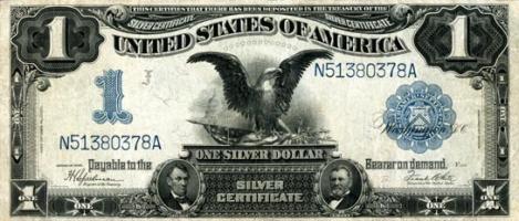1899 Silver Certificate