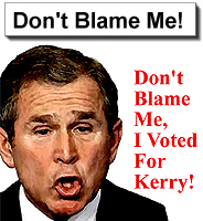 Don't Blame Me, I Voted For Kerry!