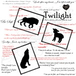 Twilight- Lion Lamb Wolf Quotes
