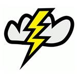 Lightning Bolt in Cloud