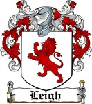 Leigh Coat of Arms, Family Crest