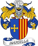Marsilla Coat of Arms, Family Crest