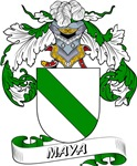 Maya Coat of Arms, Family Crest
