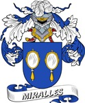 Miralles Coat of Arms, Family Crest