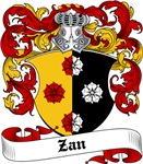 Zan Coat of Arms, Family Crest
