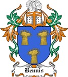 Bennis Coat of Arms, Family Crest