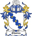 Thores Coat of Arms, Family Crest