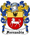 Ferrandis Coat of Arms, Family Crest