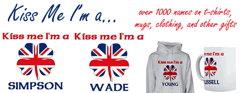 Kiss Me I'm English