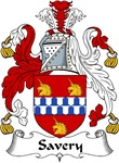 Savery Family Crest