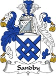 Sandby Family Crest