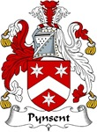 Pynsent Family Crest