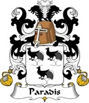 Paradis Family Crest