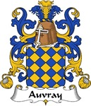 Auvray Family Crest