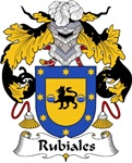Rubiales Family Crest