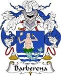 Barberena Family Crest