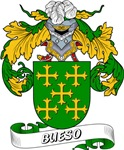 Bueso Family Crest