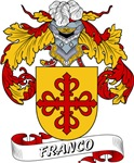 Franco Family Crest / Franco Coat of Arms