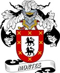 Montes Family Crest / Montes Coat of Arms