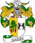Saenz Family Crest / Saenz Coat of Arms