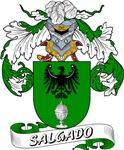 Salgado Family Crest / Salgado Coat of Arms