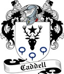 Caddell Family Crest, Coat of Arms