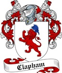 Clapham Family Crest, Coat of Arms