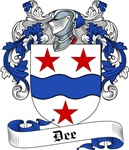 Dee Family Crest, Coat of Arms