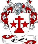 Manson Family Crest, Coat of Arms