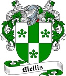 Mellis Family Crest, Coat of Arms