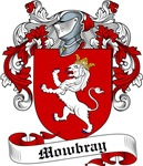 Mowbray Family Crest, Coat of Arms